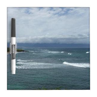 Ocean dry erase board