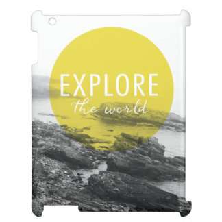 Ocean | Explore The World Quote Case For The iPad 2 3 4