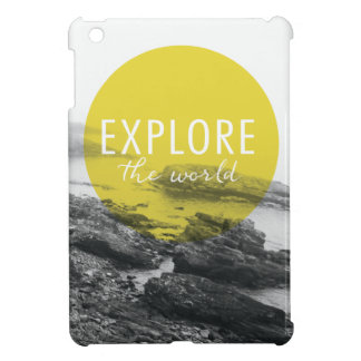 Ocean | Explore The World Quote Case For The iPad Mini