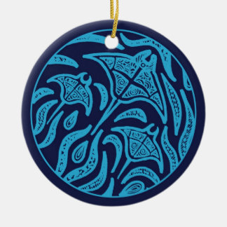 Ocean Family Manta Rays Ornament
