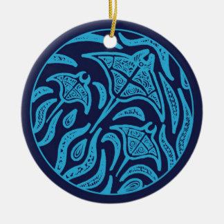 Ocean Family Manta Rays Ornament