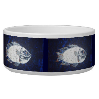 Ocean Fish Pet Food Bowls