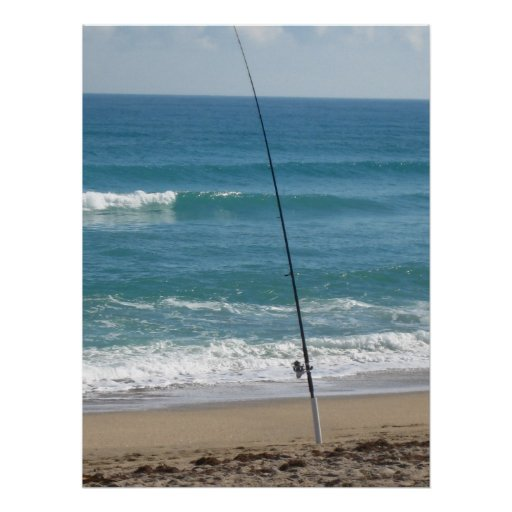 ocean fishing poster