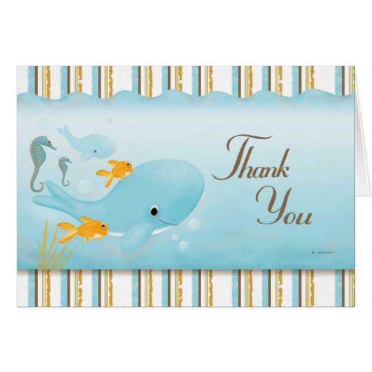 Ocean full of Thanks Card