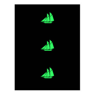 Ocean Glow_Green Clipper Postcard