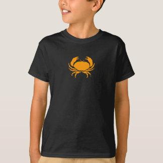 Ocean Glow_Orange on Black Crab T-Shirt