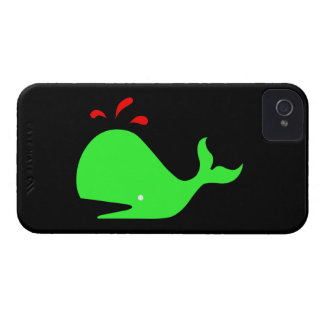 Ocean Glow_Spouty Whale Bright Green Red Blackberry Bold Covers