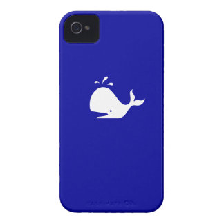 Ocean Glow_White-on-Blue Whale Blackberry Bold Cover