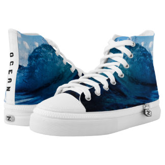 OCEAN High tops Printed Shoes