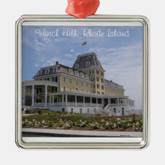 Ocean House, Watch Hill, RI Christmas Ornament