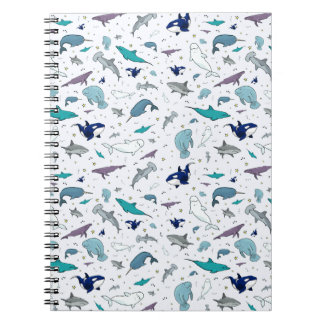 Ocean in Blue Notebooks