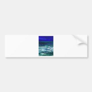 Ocean in the Moonlight Ocean Art Seascape Gifts Bumper Sticker