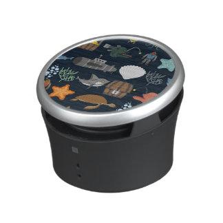 Ocean Inhabitants Pattern 1 Bluetooth Speaker