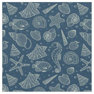 Ocean Inhabitants Pattern 2 Fabric