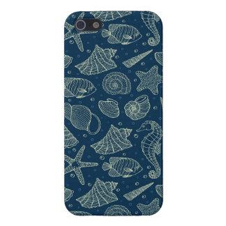 Ocean Inhabitants Pattern 2 iPhone 5 Cover