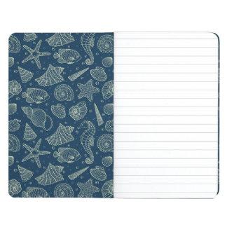 Ocean Inhabitants Pattern 2 Journals