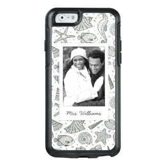 Ocean Inhabitants Pattern   Your Photo & Name OtterBox iPhone 6/6s Case