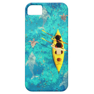 """Ocean kayak canoe art """"Secrets of the sea"""" Barely There iPhone 5 Case"""