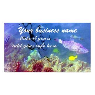 Ocean life Business Card