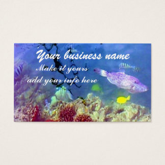 Ocean life Business Card