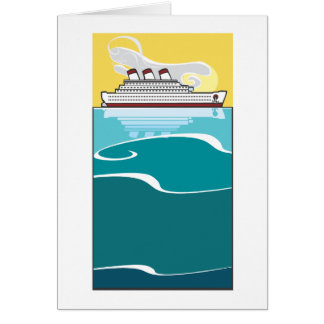 Ocean Liner #2 Greeting Card