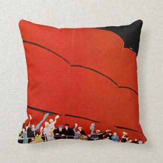 Ocean Liner Bon Voyage Cushion