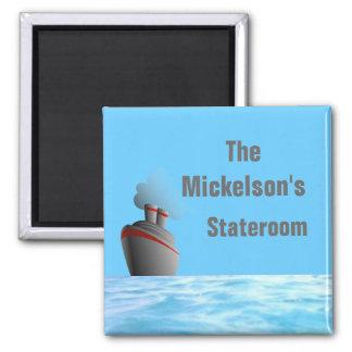 Ocean Liner Stateroom Door Marker Magnet
