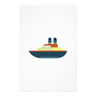 Ocean Liner Customized Stationery