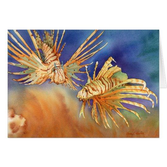 Ocean Lions Card