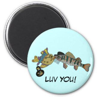 Ocean Love Valentine Magnet
