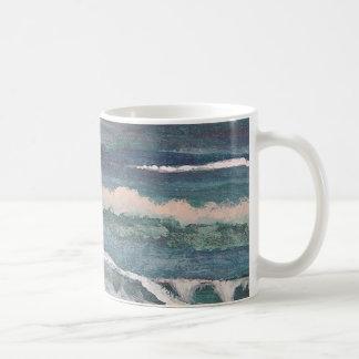 Ocean Lovers Gifts Sea Surf Beach CricketDiane Basic White Mug