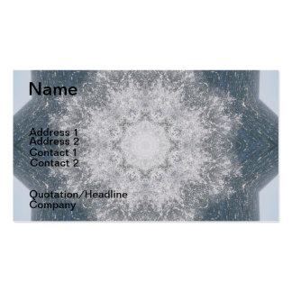 Ocean Mandala Pack Of Standard Business Cards