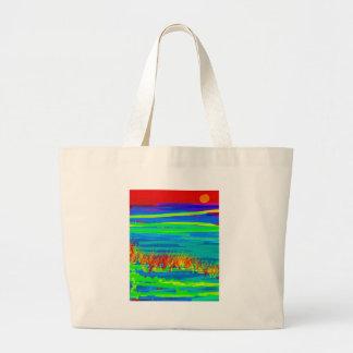 ocean may 31red.jpg jumbo tote bag