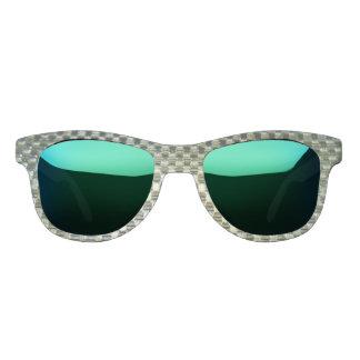 Ocean Mirrored & Metal Mesh Sunglasses