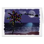 Ocean Moonlight Christmas Holiday