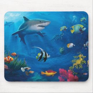 Ocean Mural Mouse Pad