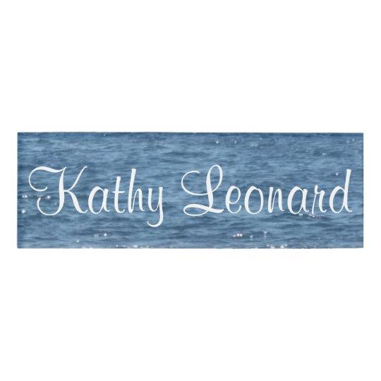Ocean Name Tag