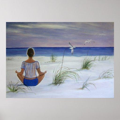 Ocean of Peace Poster
