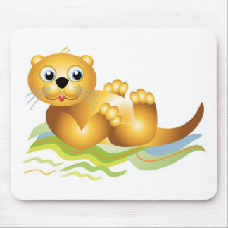 Ocean Otter Mouse Pads