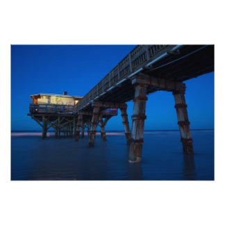 Ocean Pier Art Photo