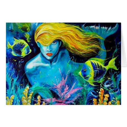 Ocean Queen Greeting Card