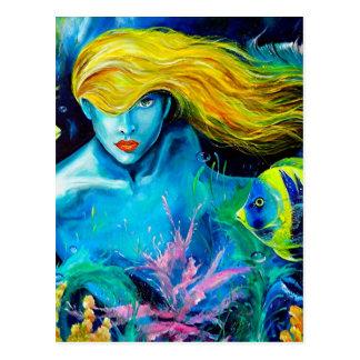 Ocean Queen Postcard