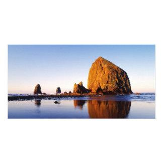 Ocean Rock Spires Photo Greeting Card