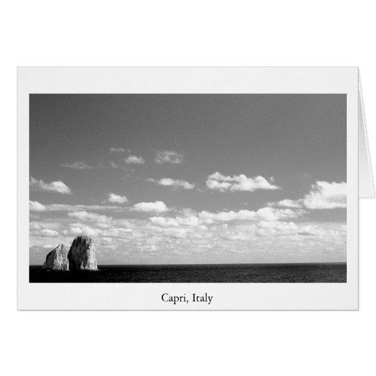 Ocean Rocks Card