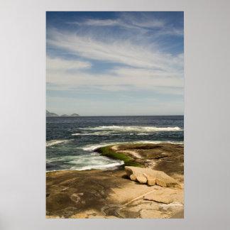 Ocean Rocks Posters