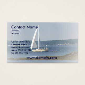 Ocean Sail Business Card