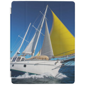Ocean Sailing In A Yacht iPad Cover