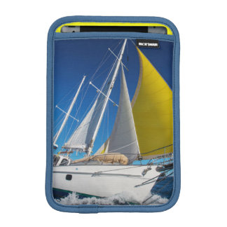 Ocean Sailing In A Yacht iPad Mini Sleeve