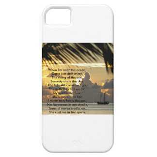 Ocean scene I-Phone case Barely There iPhone 5 Case