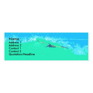 Ocean Sea Beach Coast California Pack Of Skinny Business Cards